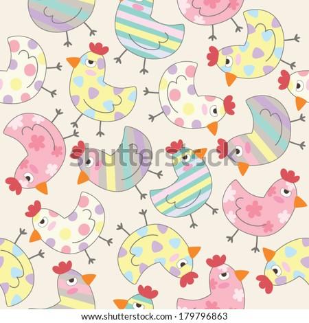 Chicken Themed Cross Stitch Patterns - DLTK-Kids.com
