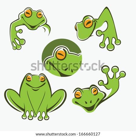 Cartoon Tree Frog Images Cute Green Tree Frog Cartoon
