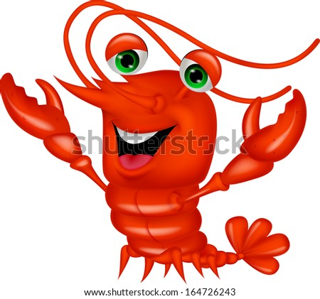 Lobster cartoon Stock ...