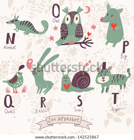 ... section animal names that start with n animals start with letter n