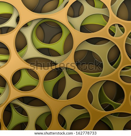 Cyber camouflage abstract background - stock vector