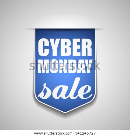 Cyber Monday Sale - stock vector
