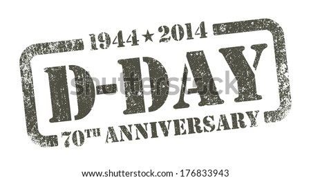 D-DAY Anniversary - stock vector