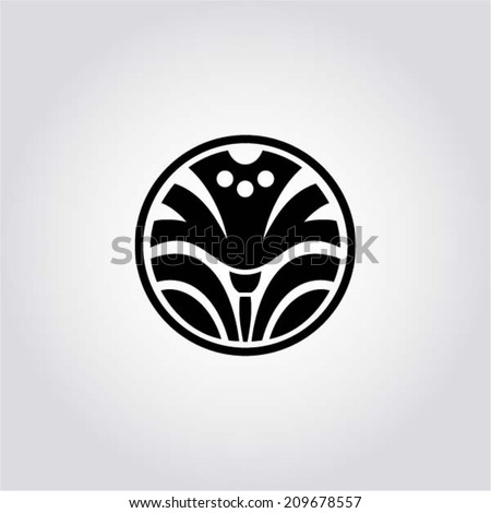 Daffodil - symbol of Wales (UK) - design element, app symbol, web design. Vector illustration - stock vector