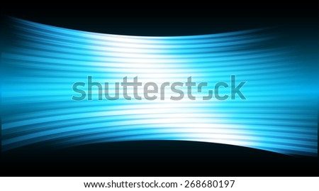 Dark blue color Light Abstract Technology background for computer graphic website internet and business. movie screen. scene, episode. cinema. projector - stock vector