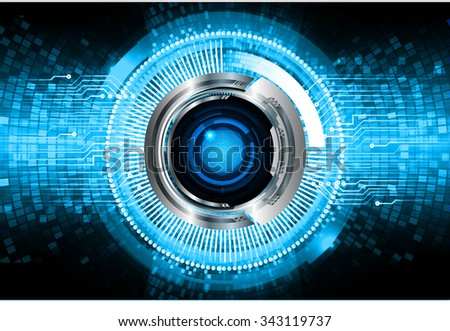 dark blue color Light Abstract Technology background for computer graphic website internet and business. circuit. illustration. digital. infographics. binary code background. www.vector.Spark eye - stock vector