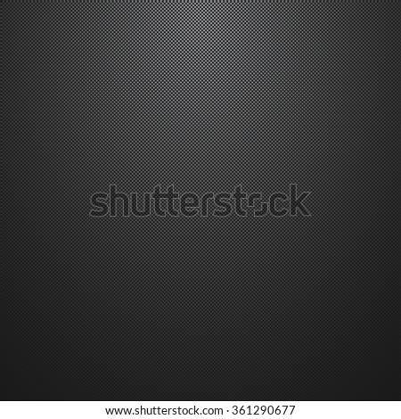 Dark grid texture. Abstract vector background. - stock vector