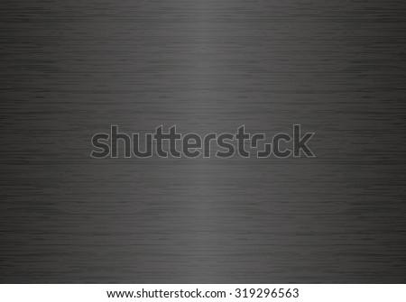 Dark metal seamless texture - stock vector
