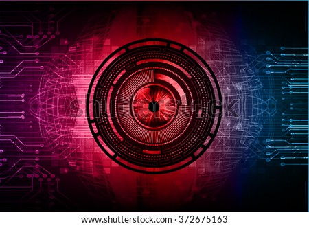dark red blue Light Abstract Technology background for computer graphic website internet business. circuit. illustration.digital.infographics. binary code. www.motion move blur. eye scan virus. vector - stock vector