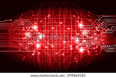 dark red color Light Abstract Technology background for computer graphic website internet and business. circuit. illustration. digital. infographics.  - stock vector