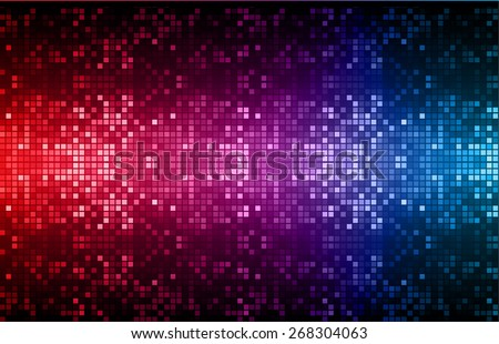 Dark red purple blue color Light Abstract pixels Technology background for computer graphic website internet. circuit board. text box. Mosaic, table - stock vector