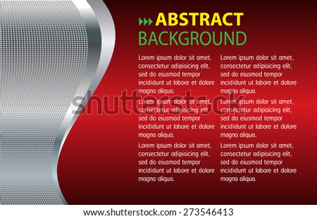 dark red silver color Light Abstract Technology background computer graphic website internet and business. circuit. vector illustration. text box. Brochure. card. banner flyer magazine. Design label.  - stock vector