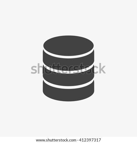 Database Icon Vector, Database Icon Flat, Database Icon Sign, Database Icon App, Database Icon UI, Database Icon Art, Database Icon Logo, Database Icon Web, Database Icon JPG, Database Icon EPS - stock vector