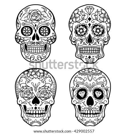 Sugar Skull Stock Photos Images amp Pictures Shutterstock