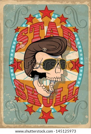 Day of the dead vector illustration - stock vector