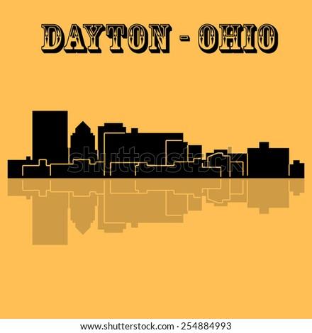Dayton, Ohio - stock vector