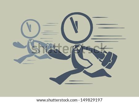 Deadline - stock vector