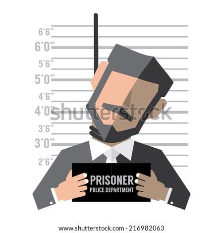 Death Penalty Concept Vector Illustration - stock vector