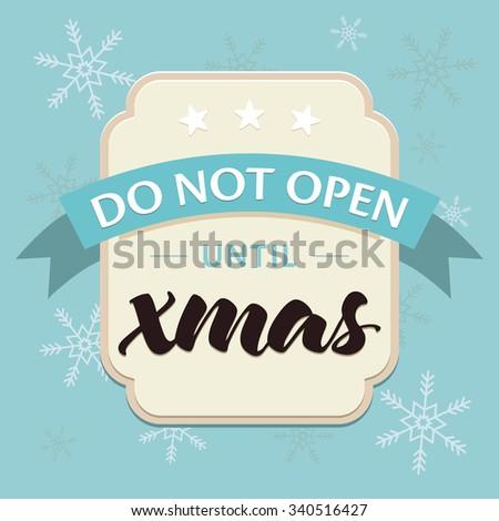 Decorative Christmas greeting card, seasonal and celebration concept - stock vector
