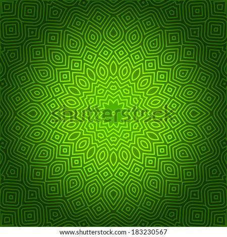 Decorative Design Pattern - stock vector