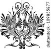 Decorative element - stock vector