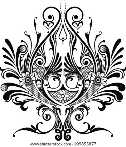 Decorative element - stock vector