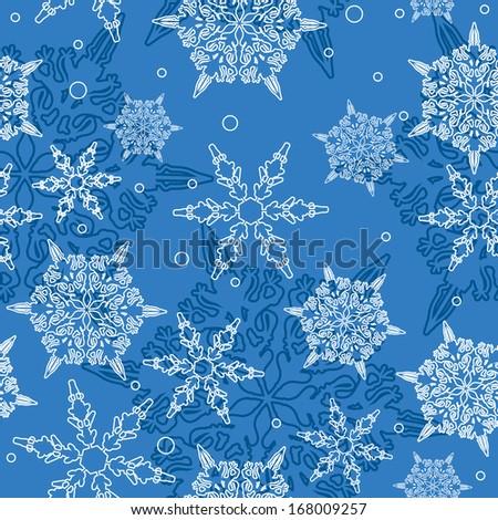decorative seamless background  - stock vector