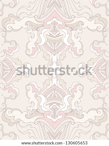 delicate seamless pattern - stock vector