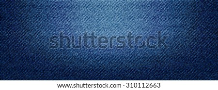 Denim background cover ready - stock vector