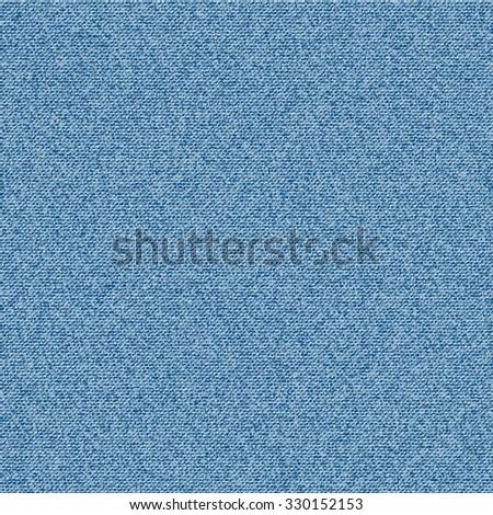 Denim Texture Seamless Vector - stock vector