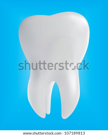 Dent - stock vector