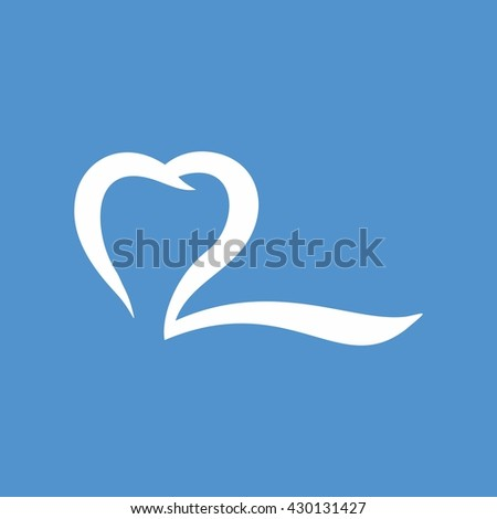 dental q logo - stock vector