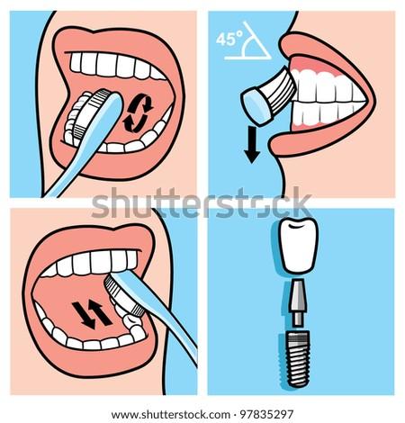 Dentistry - stock vector