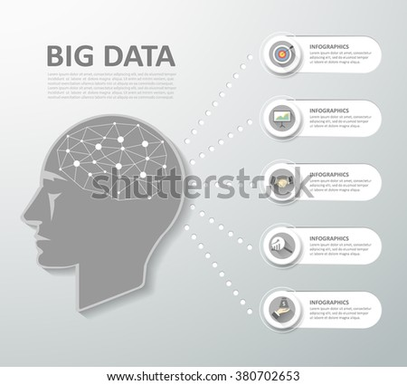 Design concept of a brainstorm, can be used for Innovation, solution, business idea, creative - stock vector