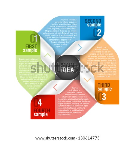 Design element. Fully editable vector. - stock vector