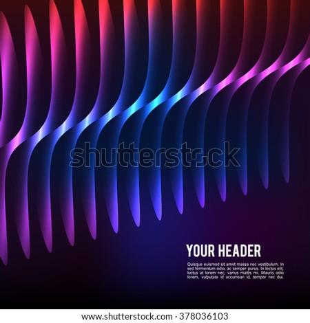 Design elements business presentation template. Vector illustration vertical web banners background, backdrop glow light effect . EPS 10 for web template, web site page presentation - stock vector