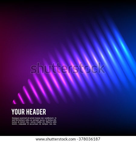 Design elements business presentation template. Vector illustration vertical web banners background, backdrop glow light effect . EPS 10 for web template, web site page presentation - stock vector