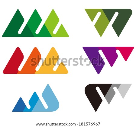 w logo design vector   symbol of letter w template logo
