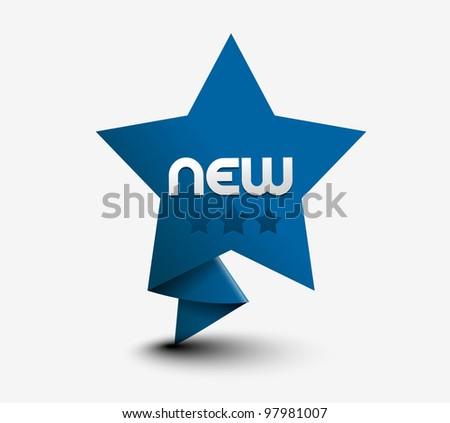 Design of star rating design element. - stock vector