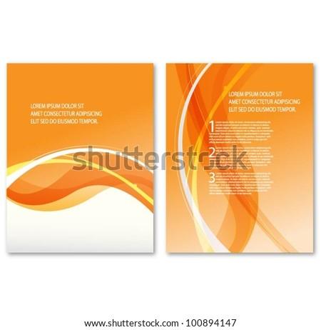 design template. vector - stock vector