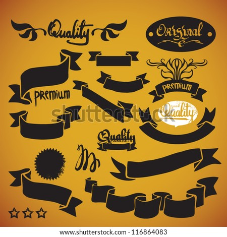design vintage elements - stock vector