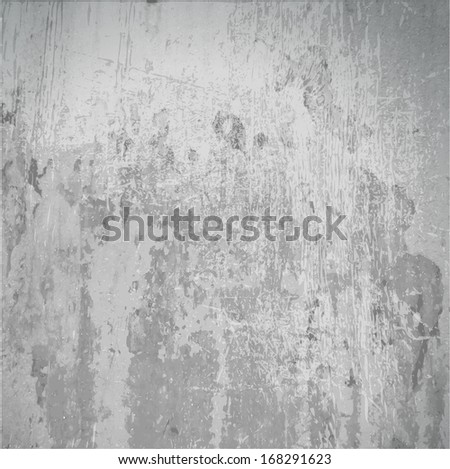 Designed grunge paper texture, background, Distressed cracked, scuffed, stains, and scratches - stock vector