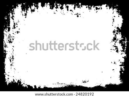 Detailed vector grunge background. - stock vector