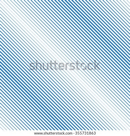 Diagonal Lines . Abstract Lines . Vector Lines . Lines Seamless Pattern . Blue Lines . Straight Lines . Oblique Lines . - stock vector