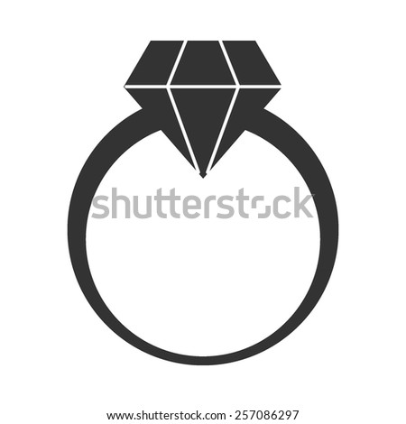 diamond ring vector icon - photo #9