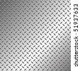 Diamond steal texture - stock vector