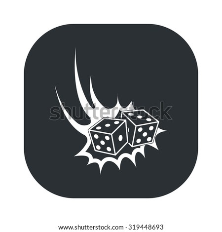 Dice icon. Dice icon vector. Dice icon simple. Dice icon app. Dice icon web. Dice icon logo. Dice icon sign. Dice icon ui. Dice icon flat. Dice icon eps. Dice icon art. Dice icon draw. Dice. - stock vector