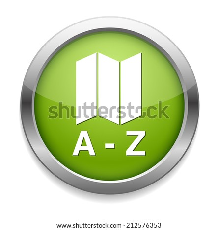 dictionary icon - stock vector