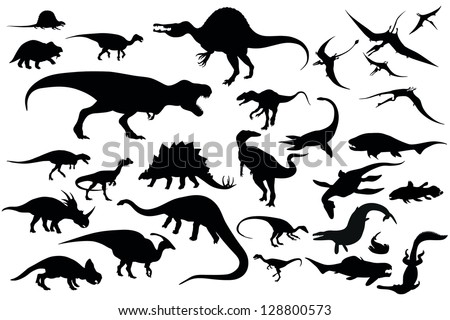 dinosaur - stock vector