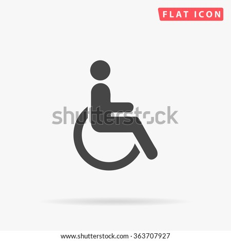 Disabled Icon.  - stock vector